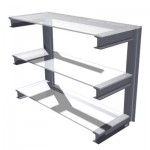 Three Tier Cantilever