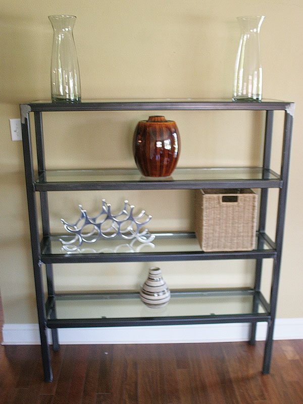 Four Tier Bookshelf