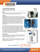 Tech Tip-957: Level Assist Indicator