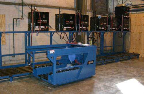 ATC-2TIER forklift battery changer