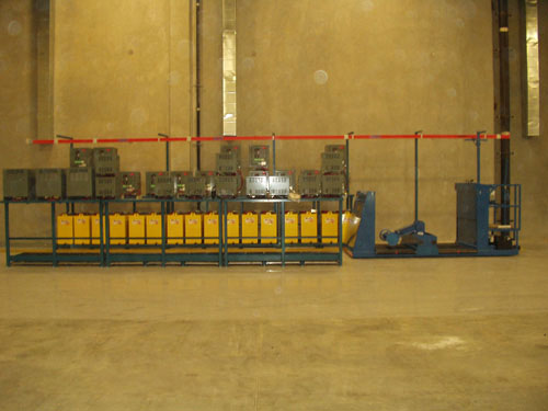 BE-SL forklift battery changer system