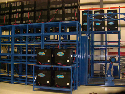 BS-DS Double Stack Forklift Battery Stands