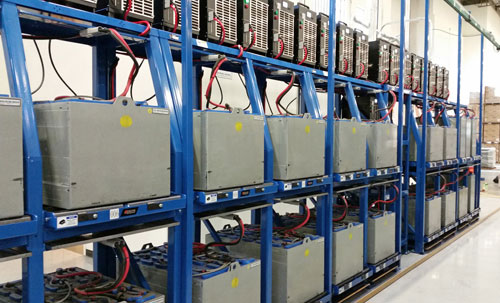BS-DS Forklift Battery Charging Station