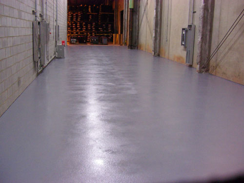 Epoxy Floor and Level