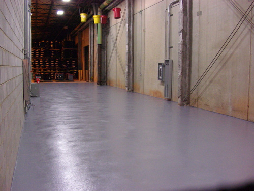 Floor Grinding and Epoxy