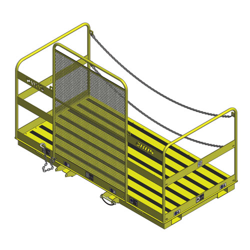 Forklift Work Platform Wide