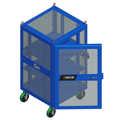 High Value Cart Blue Door Open HVC