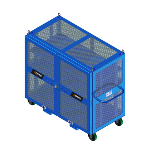 High Value Cart Blue HVC