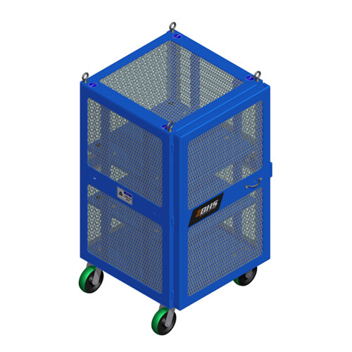 High Value Cart Narrow Blue