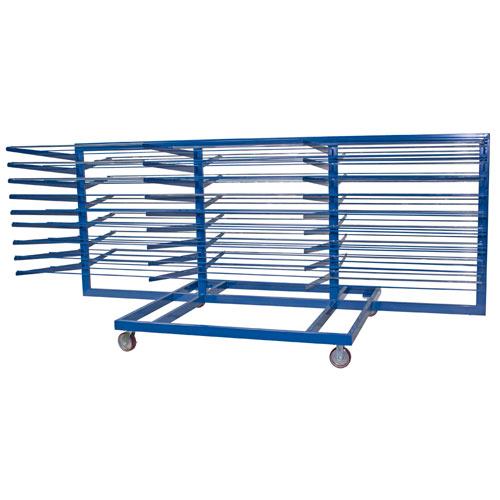 Horizontal Material Storage Cart
