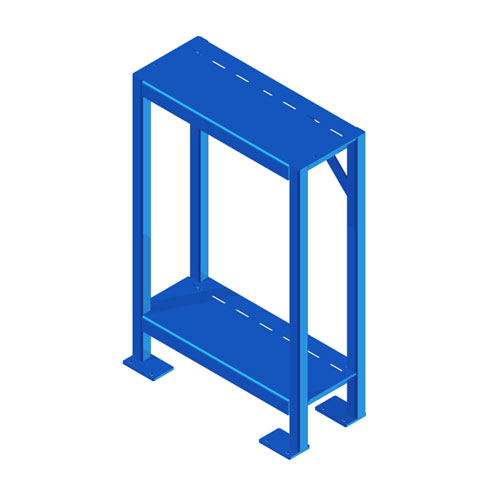 Industrial Shelving Blue IS
