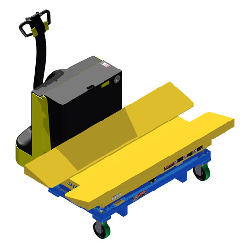 LT Vee Cradle - Scissor Lift Table