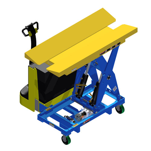 LT Vee Cradle Scissor Lift Table