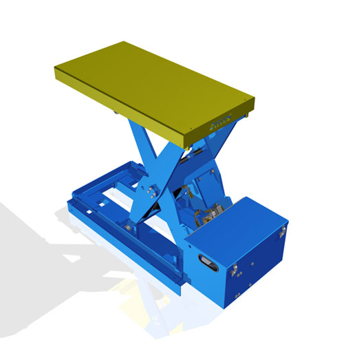 Lift Table with Fork Pockets LT4K