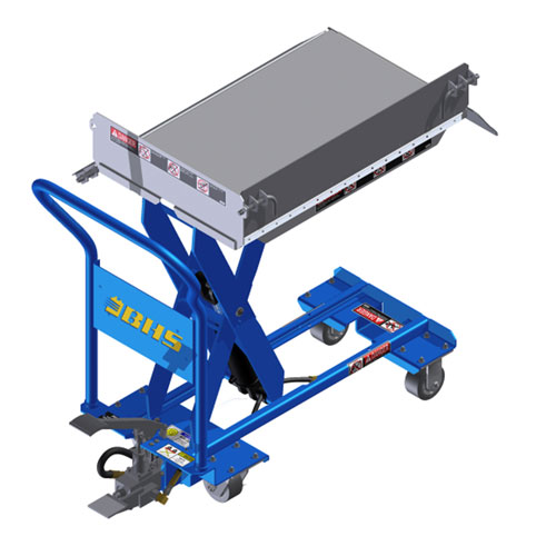 MMLT Manual Mobile LIft Table flip sides