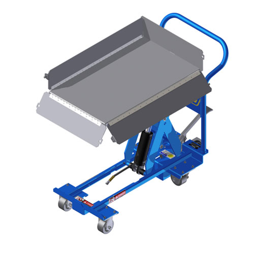 Manual Mobile Lift Table MMLT with flip side top