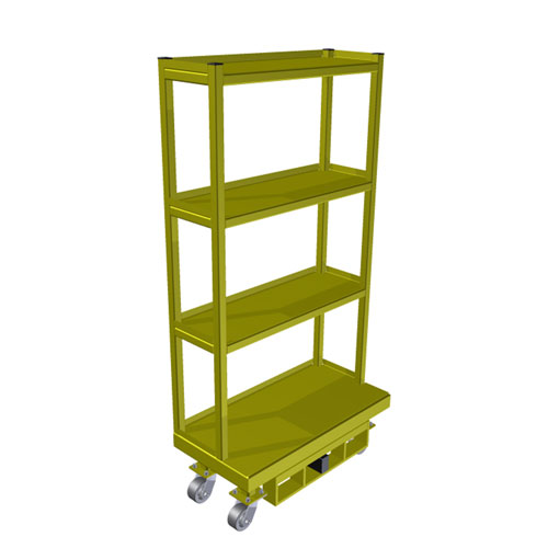 Order Picing Cart Narrow 18 x 36 OPC