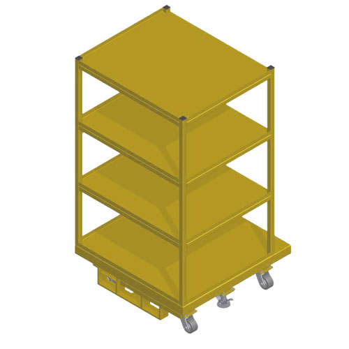 Order Picking Cart 40 x 40 OPC