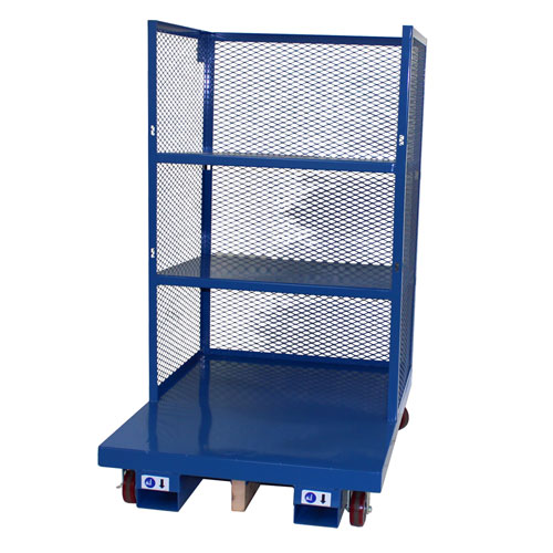 Order Picking Cart with Caged Sides 2