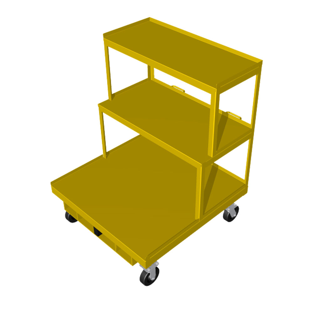 Order Picking Cart with cantilever 42 x 42 OPC