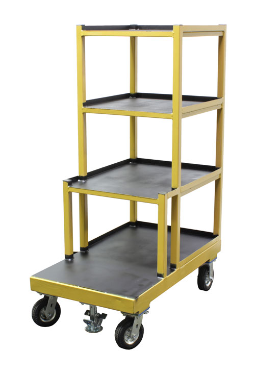 Order Picking Cart with non skid surfaces