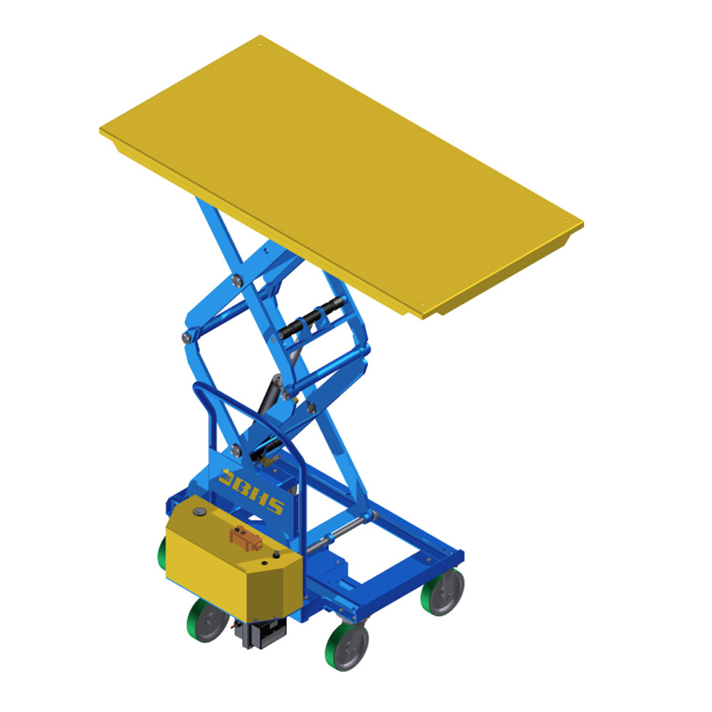 PMLT Powered Mobile Lift Table 36 x 72