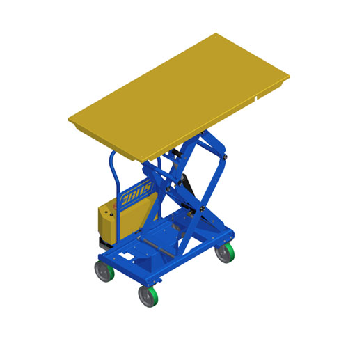 Powered Mobile Lift Table 36 x 72
