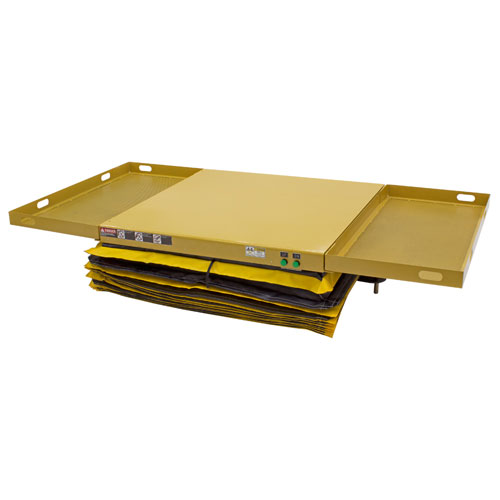 Powered Mobile Lift Table Lowered PMLT-NS