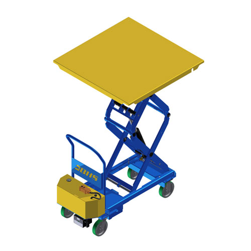 Powered Mobile Lift Table with 48 x 48 top PMLT