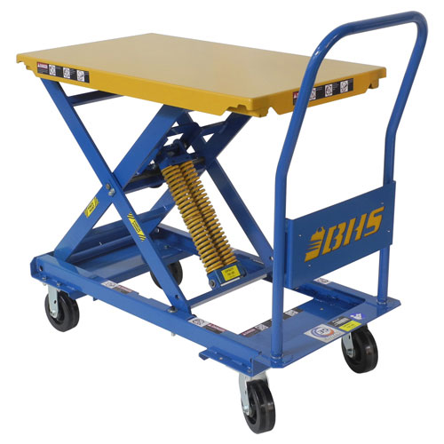 Self-Leveling Mobile Lift Table SMLT