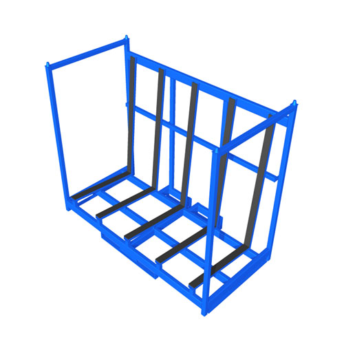 Sheet Material Rack one level front SMR