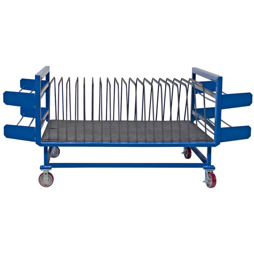 Vertical Material Storage Cart