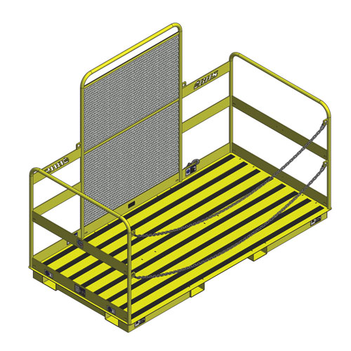 Wide Forklift Work Platform