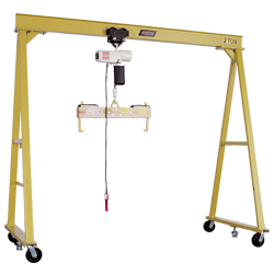 PGC  2 Ton Non-Power Drive Gantry Crane