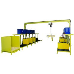 3PGC-PDC 3 Ton Power Drive Gantry Crane