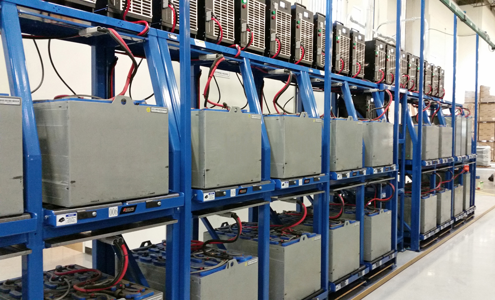 Improving Access To Forklift Battery Chargers Bhs