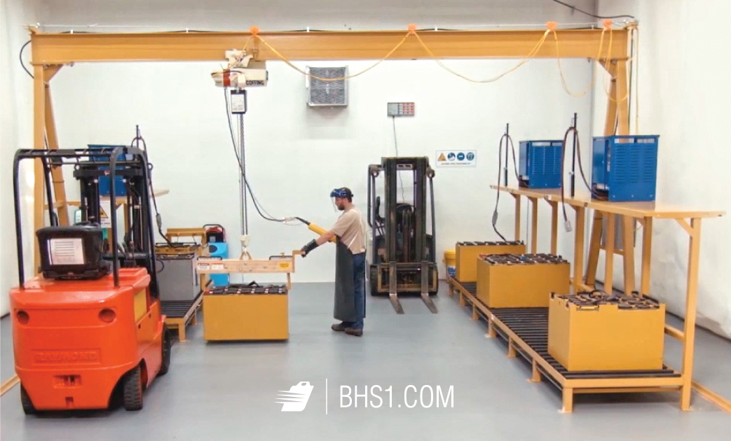 Why A Frame Gantries Are Best For Vertical Forklift