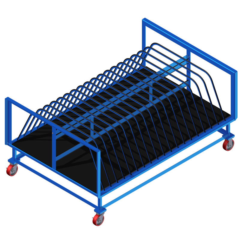 Mobile Sheet Material Racks