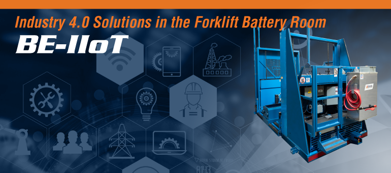 BHS Updates Battery Extractors with IIoT