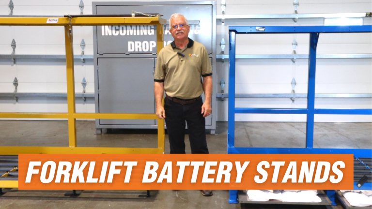 forklift battery charging stations
