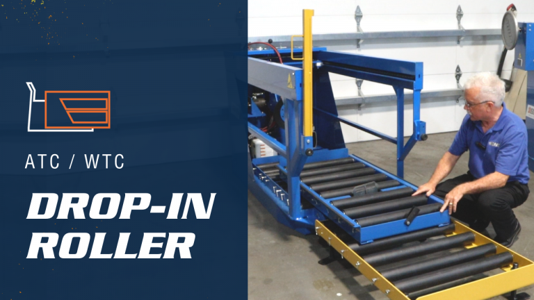 Drop-In Roller Option for BHS Battery Changer