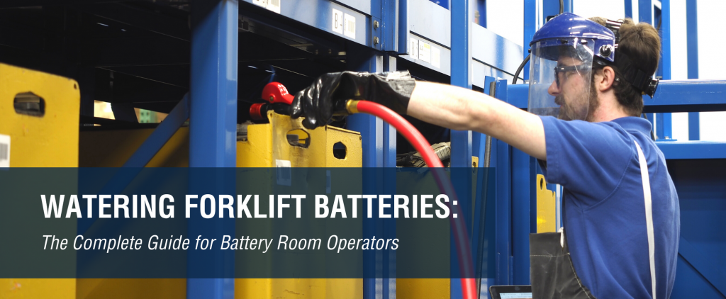 watering forklift batteries guide