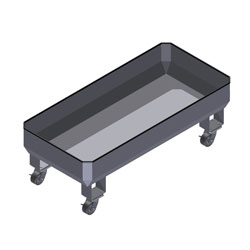 Stainless Steel Food Service Bin