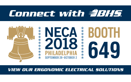 Connect with BHS at NECA 2018