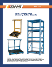 PL-2000 Battery Roller Stands