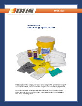 PL-3000 Battery Spill Kits