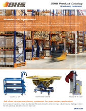 PL-4000 Warehouse Equipment
