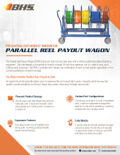 PL-7600 Parallel Reel Payout Wagon
