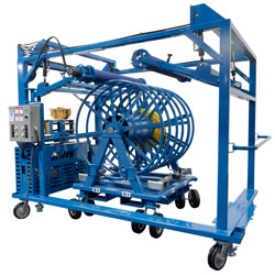 SWT Spool Winding Trolley