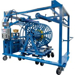 SWT-IIoT  Spool Winding Trolley - Industrial Internet of Things